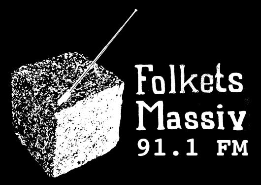 FOLKETS MASSIV FM - SVART